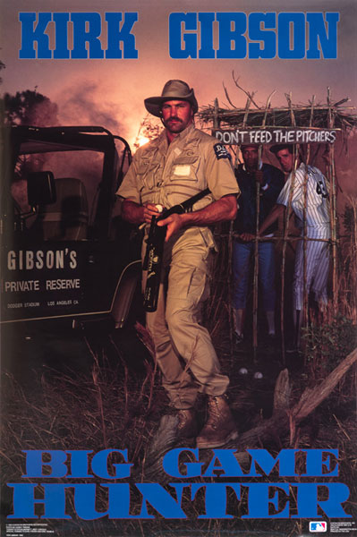 Kirk Gibson :: Courtesy of the Costacos Brothers