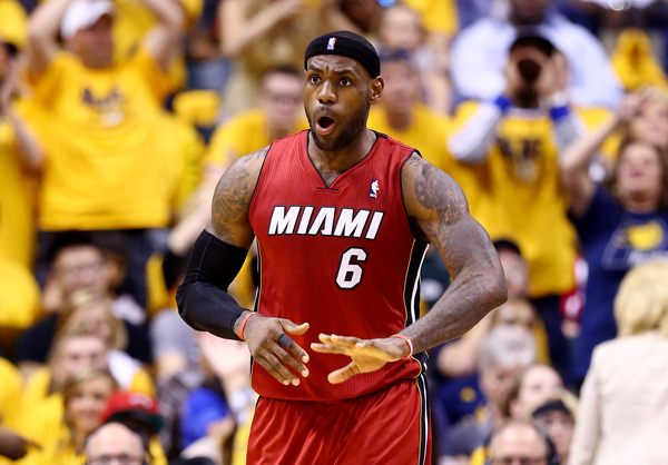 LeBron James :: Getty Images