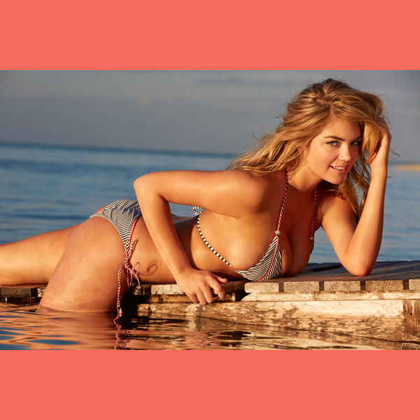 Kate Upton in the Cook Islands, Swimsuit 2014 :: James Macari/SI