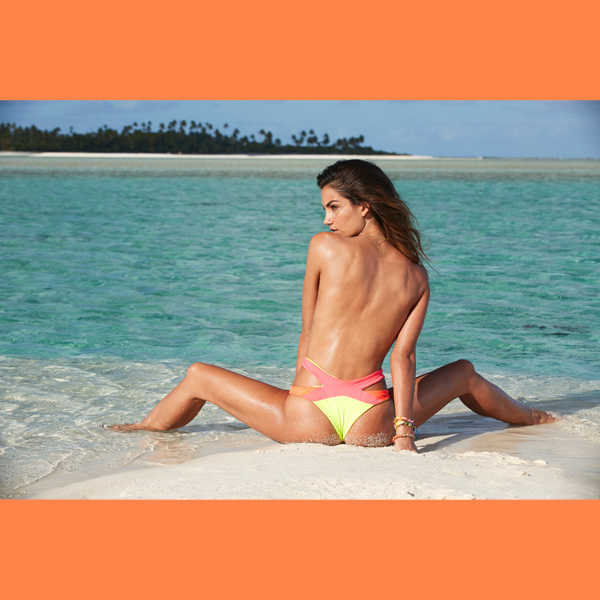 Lily Aldridge in the Cook Islands, Swimsuit 2014 :: James Macari/SI