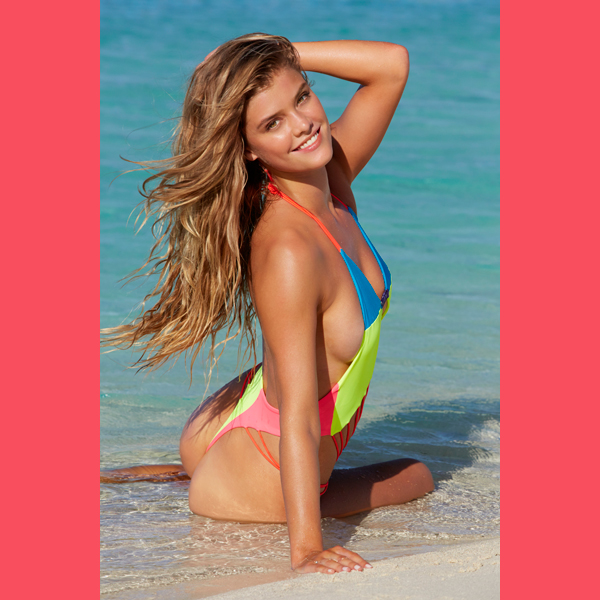 Nina Agdal in the Cook Islands, Swimsuit 2014 :: James Macari/SI
