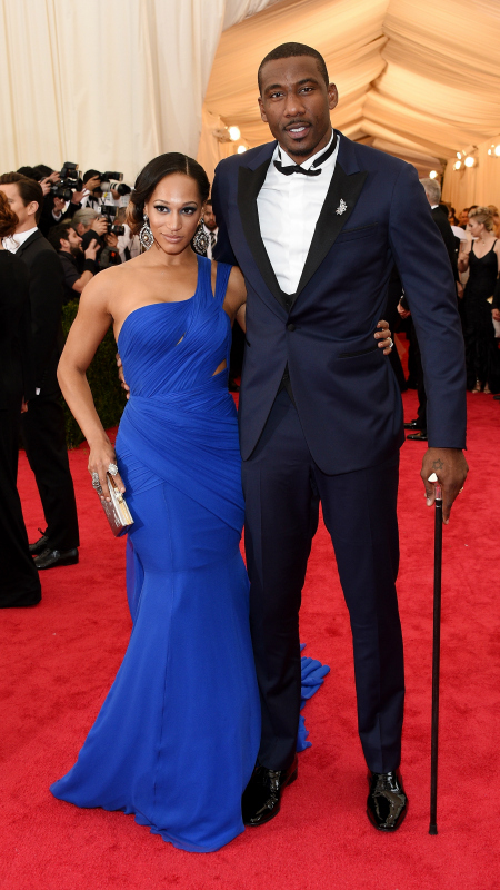 Amar'e Stoudemire & Alexis Welch (Larry Busacca/Getty Images)