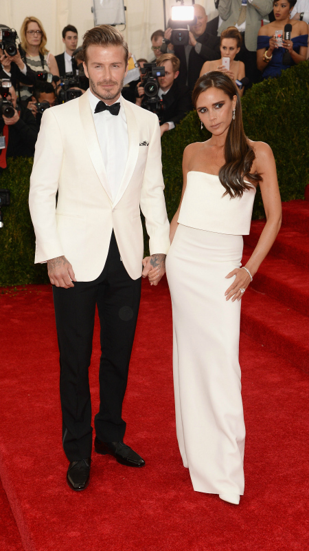 David & Victoria Beckham (Jamie McCarthy/FilmMagic/Getty Images)