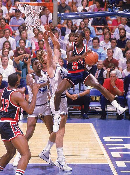 Michael Jordan :: Heinz Kluetmeier/SI