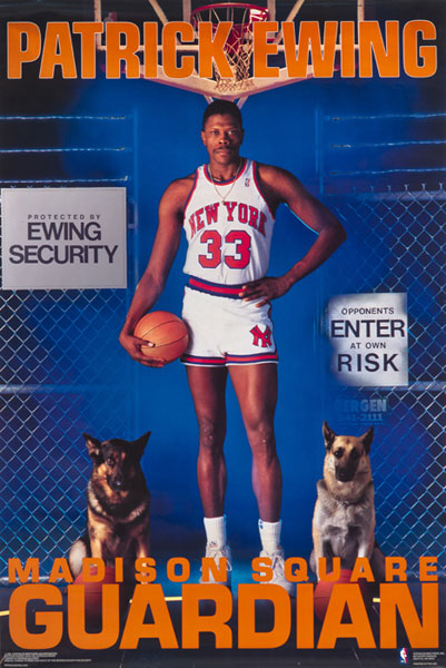 Patrick Ewing :: Courtesy of the Costacos Brothers