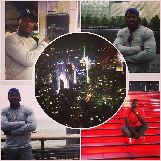 I love this city #newyork #goodday #goodtime #mlbfancave #mlb #baseball #bomberos #empirestatebldg
