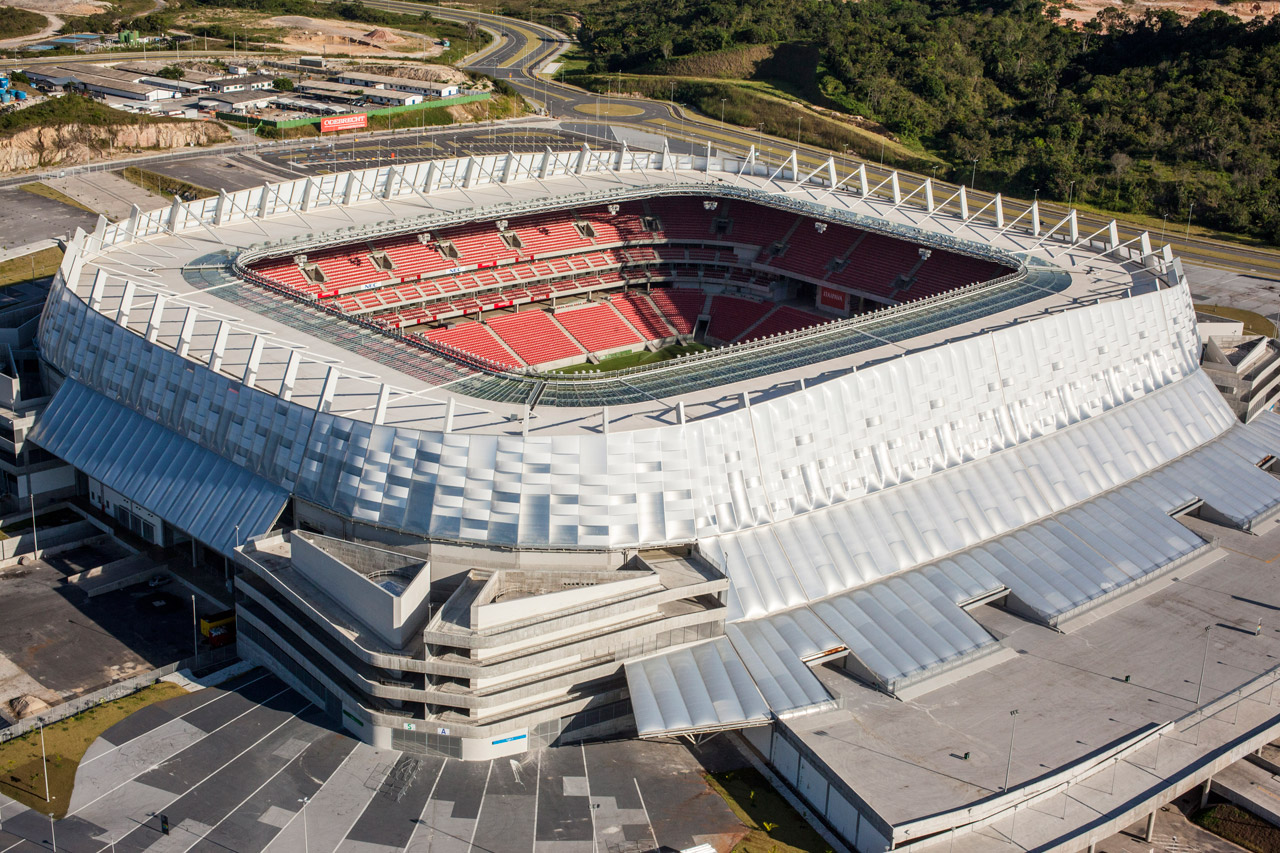 Arena Pernambuco (photo courtesy Brazilian Federal Government).