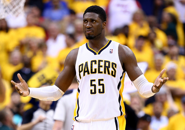 Roy Hibbert :: Getty Images