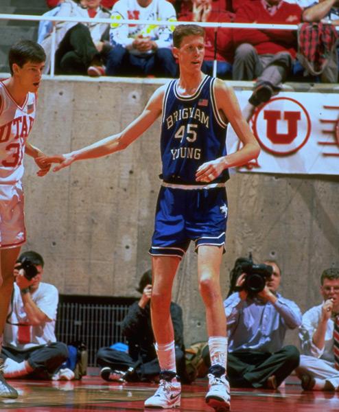 Shawn Bradley, 1991 :: Richard Mackson/SI