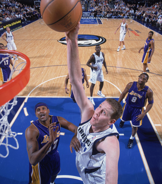 Shawn Bradley, 2002 :: Getty Images