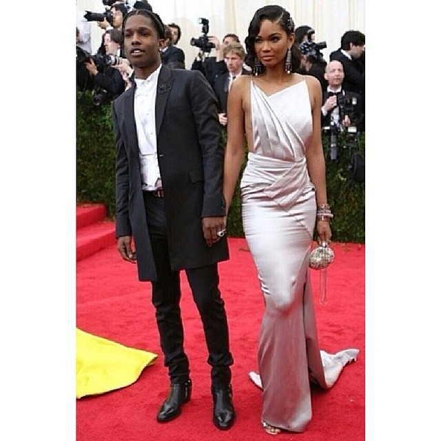 @imgmodels: @chaneliman and @asvpxrocky at the #metball tonight
