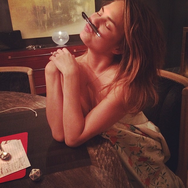 @chrissyteigen: Clearly I am losing scattergories