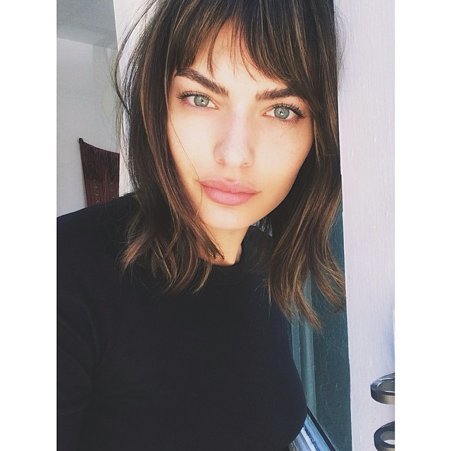 @imgmodels: @luvalyssamiller ready for summer with her gorgeous new haircut