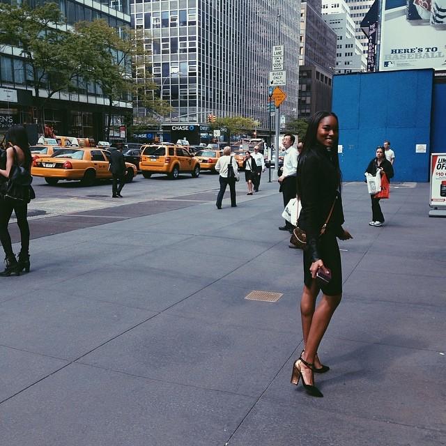 @damarislewis: It's up to you, New York...New York...
