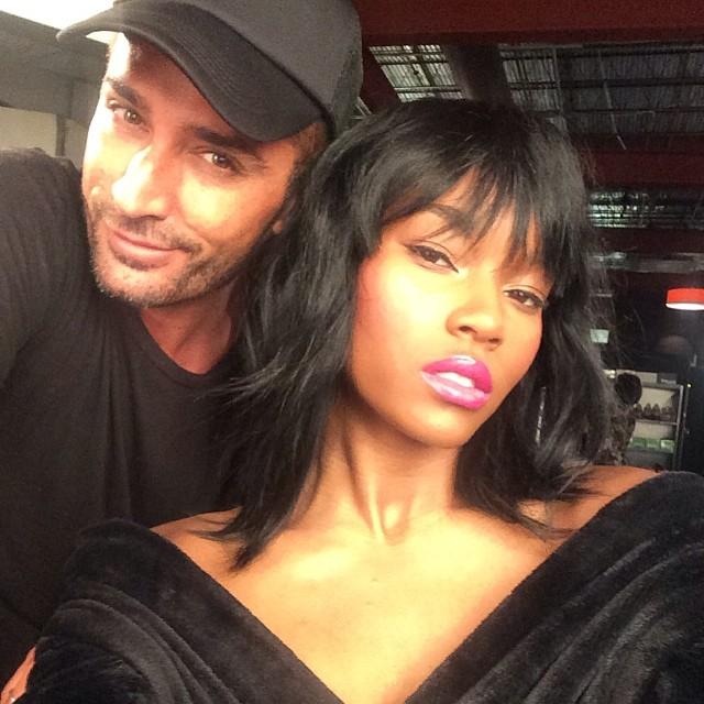 @damarislewis: Testing out this wig moment. dahling! @bobbybujisicmakeup #Hsn #itsfunhere