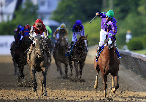 California Chrome takes it home. (Getty Images)
