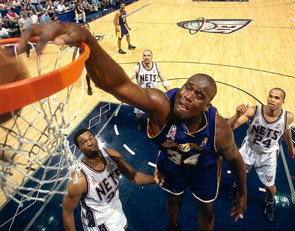 Shaquille O'Neal, 2002 :: John Biever/SI