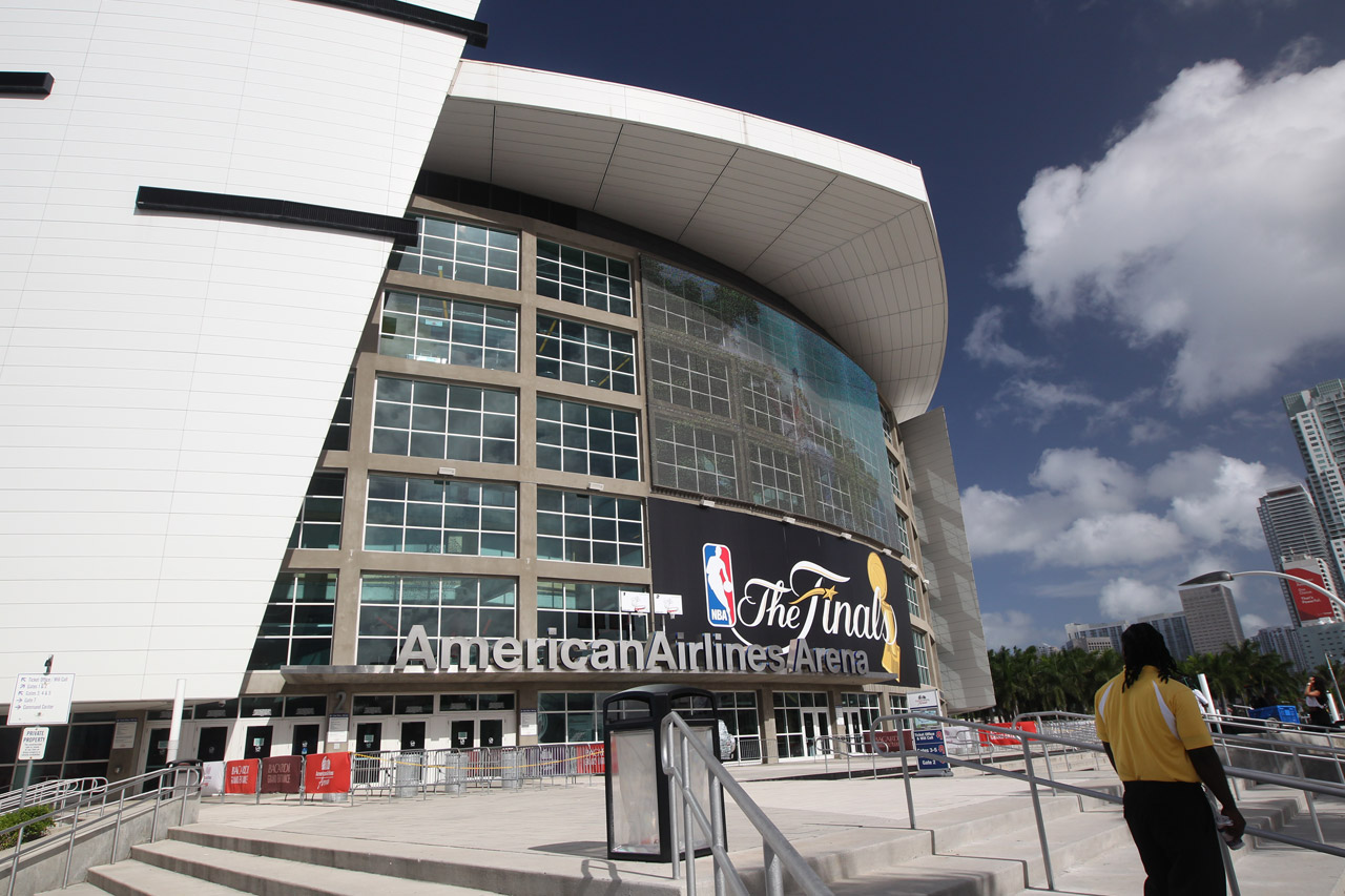 AmericanAirlines Arena (Photo by Bruce Yeung/NBAE via Getty Images)