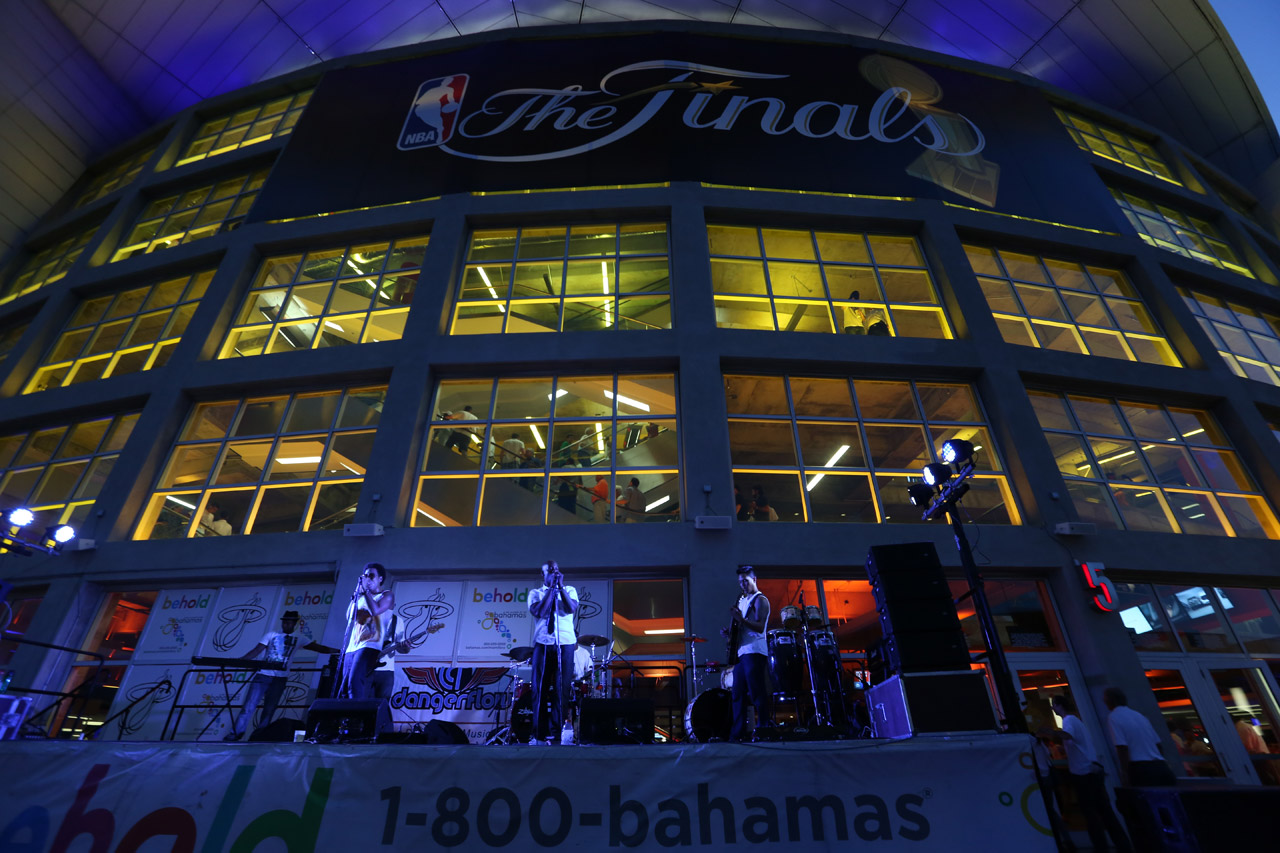 AmericanAirlines Arena (Photo by Gary Dineen/NBAE via Getty Images)