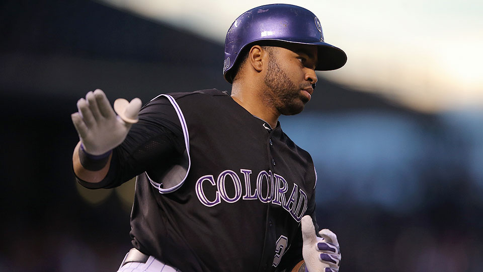 Wilin Rosario figures to benefit from the hitter-friendly confines of Coors Field as summer wears on.