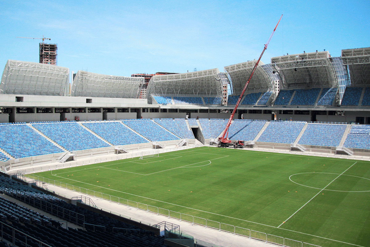 Estadio das Dunas, Natal (Photo courtesy Brazilian Federal Government)