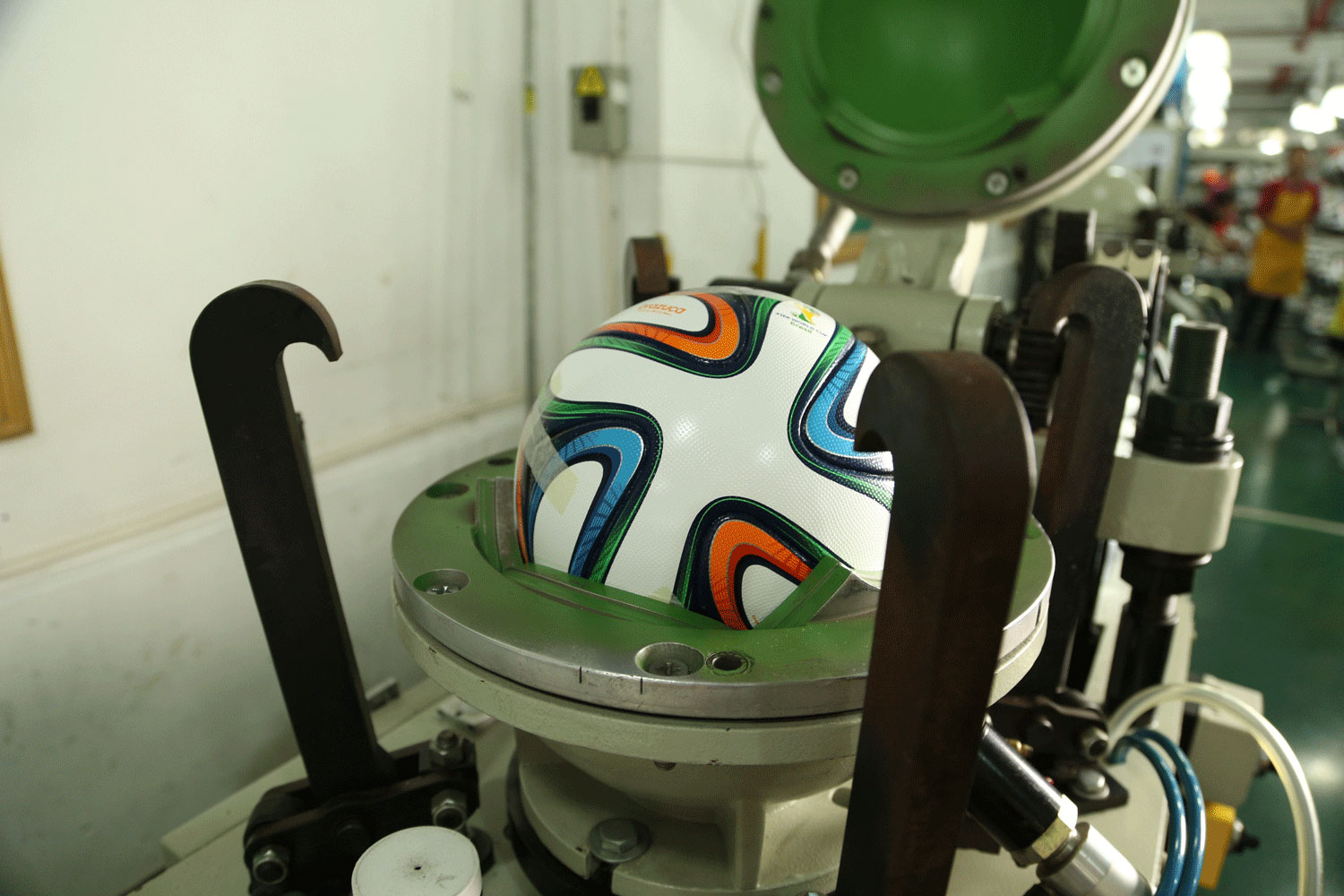 Brazuca, the official World Cup match ball (Photos courtesy of adidas)