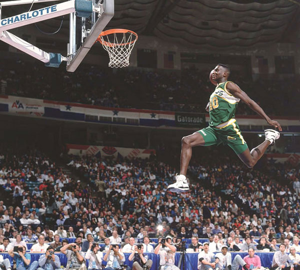 Shawn Kemp :: Walter Iooss Jr./SI