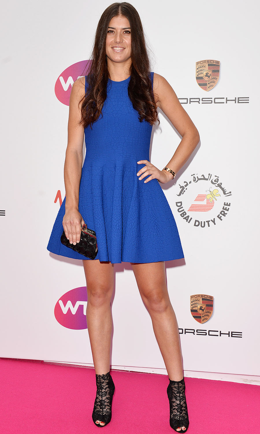 Sorana Cirstea: In Alexander McQueen, in case you were wondering.