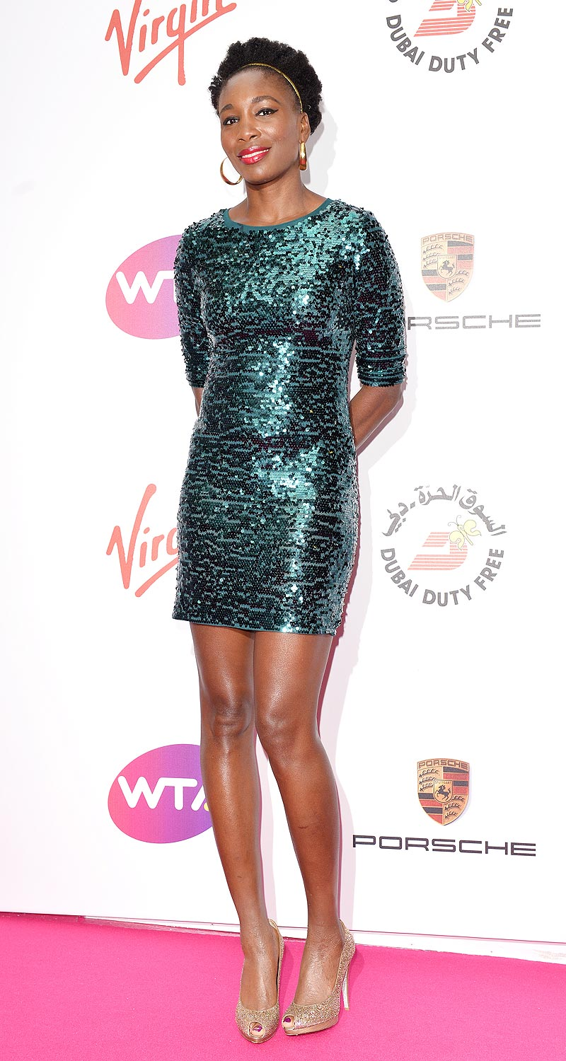 Venus Williams: Effortless.