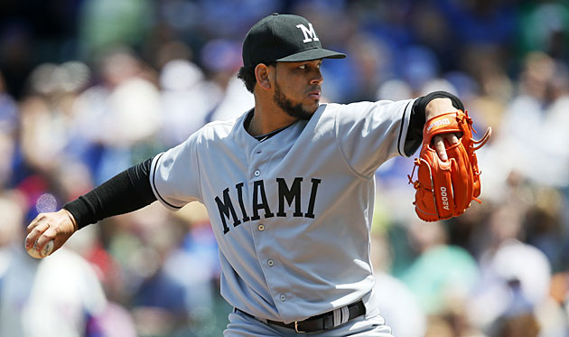 Henderson Alvarez ended last season with a no-hitter and he's continued to have success this season.