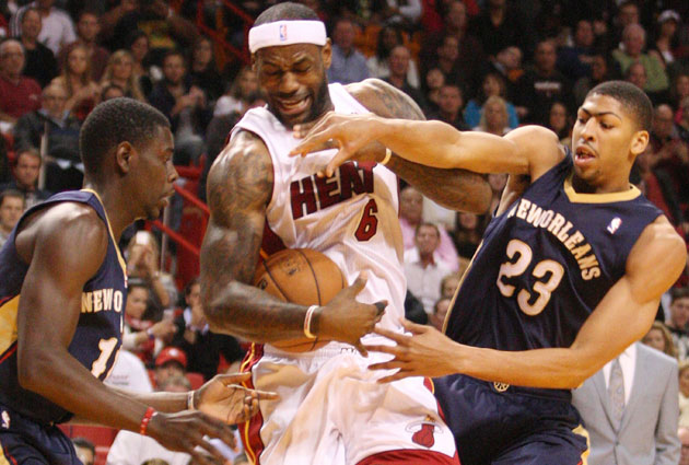 LeBron James and Anthony Davis could form a devastating defensive duo in New Orleans.