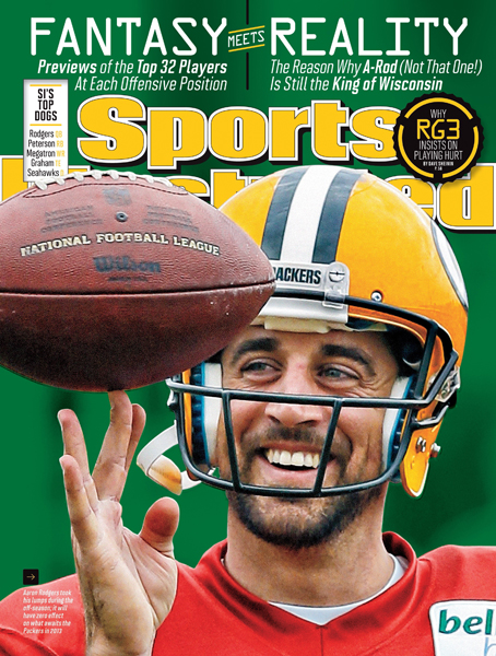 4. Aaron Rodgers ($45.8 million) :: Morry Gash/AP