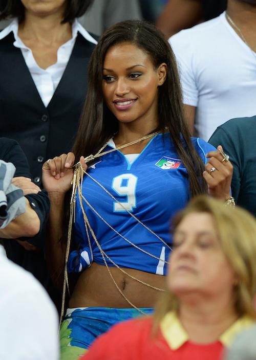 Fanny Neguesha :: Getty Images
