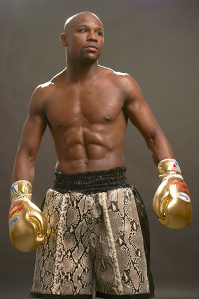 1. Floyd Mayweather ($105 million) :: Robert Beck/SI
