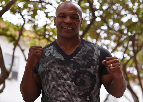 """Mike Tyson says Muhammad Ali is the greatest fighter of all time: """"No doubt."""" (John W. McDonough/SI)"""