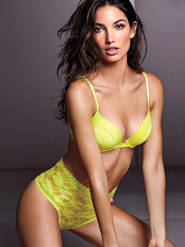 Lily Aldridge for Victoria's Secret :: Fashion Gone Rogue