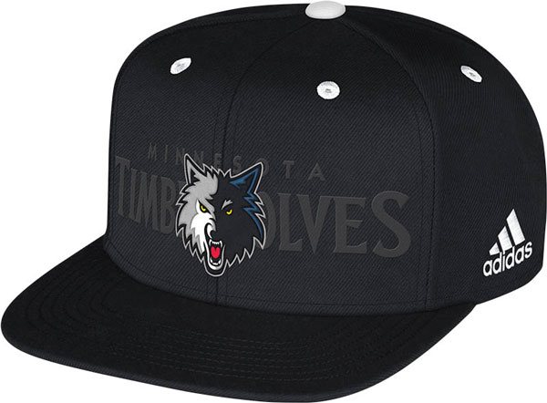 The Minnesota Timberwolves' 2014 NBA draft hat. (NBA)
