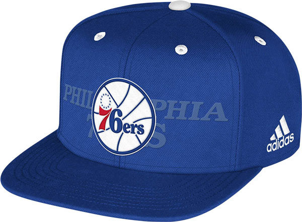 The Philadelphia 76ers' 2014 NBA draft hat. (NBA)