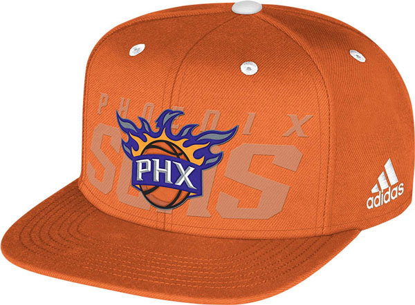 The Phoenix Suns' 2014 NBA draft hat. (NBA)