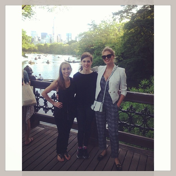 @kateupton: I loved walking around #centralpark today with my family!