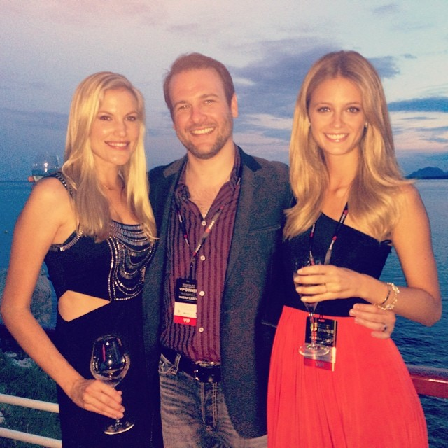 @katelynnebock: Amazing time and beautiful sunset at Hotel du Cape for MediaLink