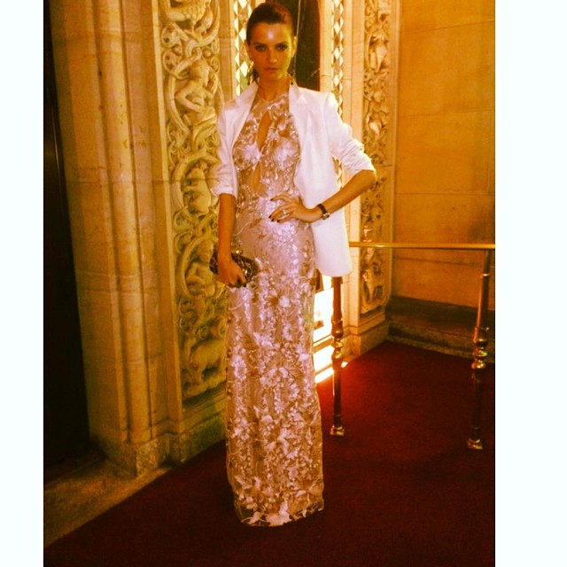 @jchiminazzo: At #FIT gala with @danielurzedo wearing gorgeous @patriciabonaldi@alexadrebirman