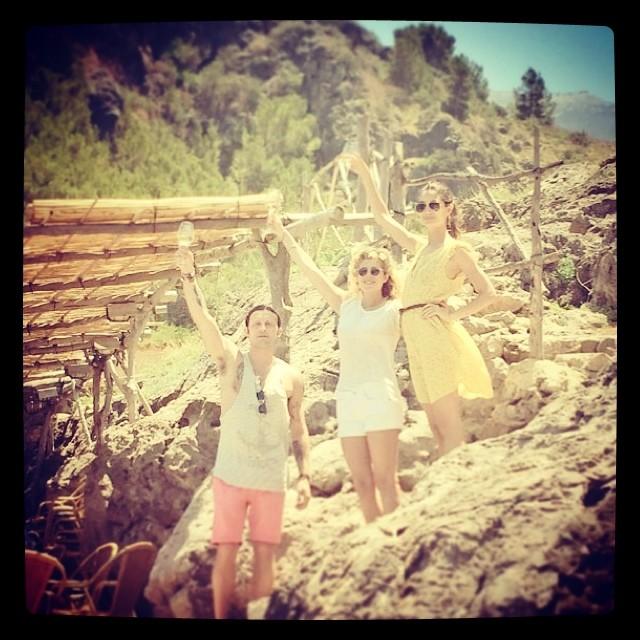 @lilyaldridge: ¡Salud! @ivannathaniel @jezebelbaylin Photo by @colemantime