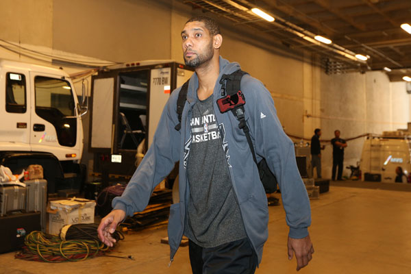 Tim Duncan :: Getty Images