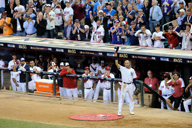 Derek Jeter :: Getty Images