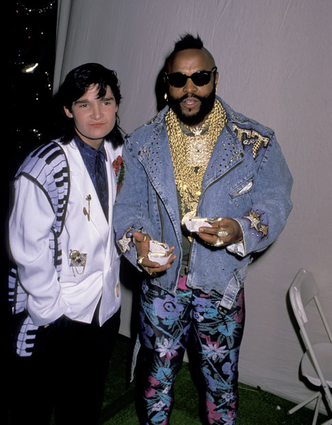 Corey Feldman and Mr. T :: Getty Images