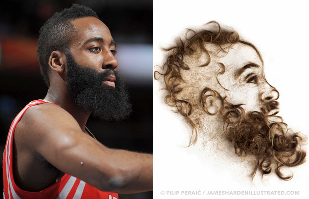 James Harden :: Getty Images, James Harden Illustrated