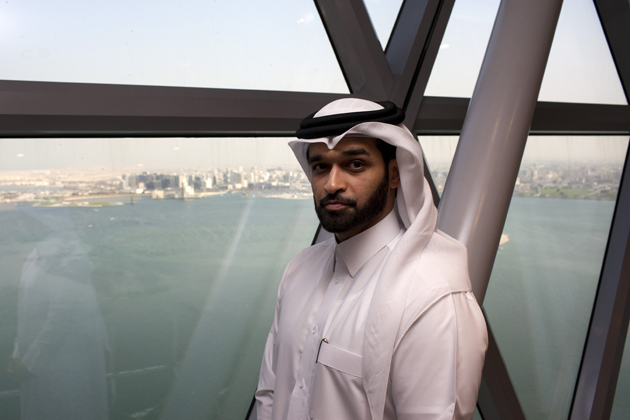 Hassan Al Thawadi, head of Qatar's 2022 World Cup organizing committee, has grand visions despite loud criticisms.