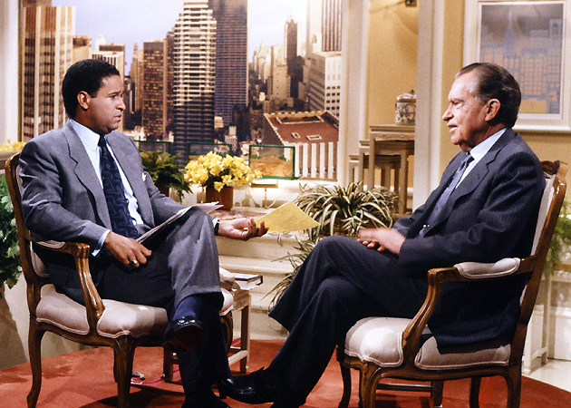 Bryant Gumbel interviewed several high-profile figures during his time on <i>Today</i>, including former president Richard Nixon.