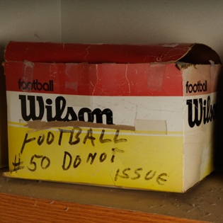 The box was kept closed for 48 years before Williams College discovered it contained more than just another set of jerseys.